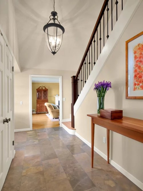 Tile Floor Foyer