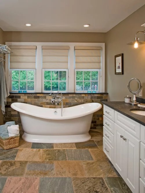 Best Slate Bathroom Design Ideas  Remodel Pictures  Houzz