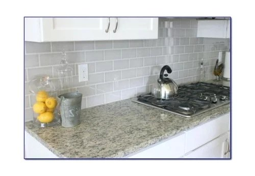 looking for a light gray subway tile