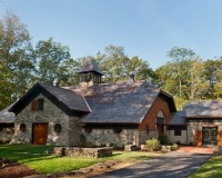 Wood And Stone House | Houzz