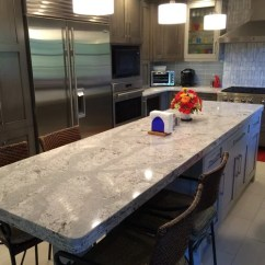 Soapstone Kitchen Countertops Distressed Cabinets Cambria Quartz Summerhill On Grey