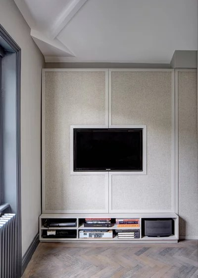 shelving ideas for living room walls most comfortable chairs 12 clever transitional by sigmar