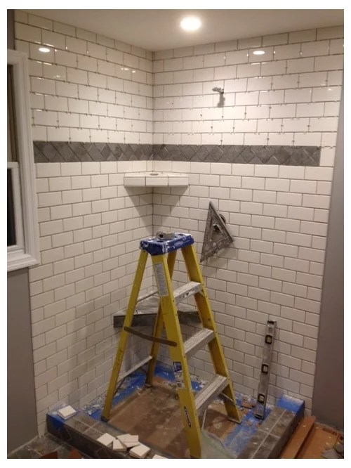 white grout or silver grout