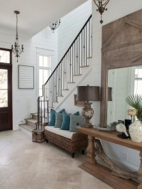 Coastal Foyer Home Design Ideas, Pictures, Remodel and Decor