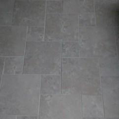 Undermount Porcelain Kitchen Sink Small Recycling Bins For Hopscotch Tile Pattern | Houzz