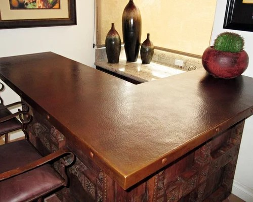 average cost of kitchen cabinets valance best hammered copper countertops design ideas & remodel ...