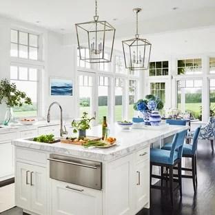 coastal style kitchen 75 Most Popular Beach Style Kitchen Design Ideas for 2019