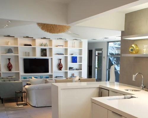 Best Shelves Around Tv Design Ideas  Remodel Pictures  Houzz