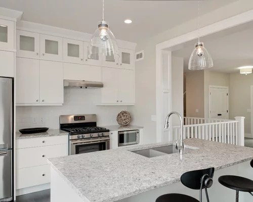 appliances for small kitchens upholstered kitchen counter stools cambria new quay | houzz