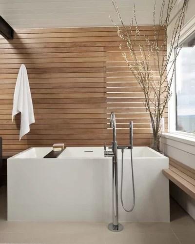 Modern Bathroom by NB Design Group, Inc