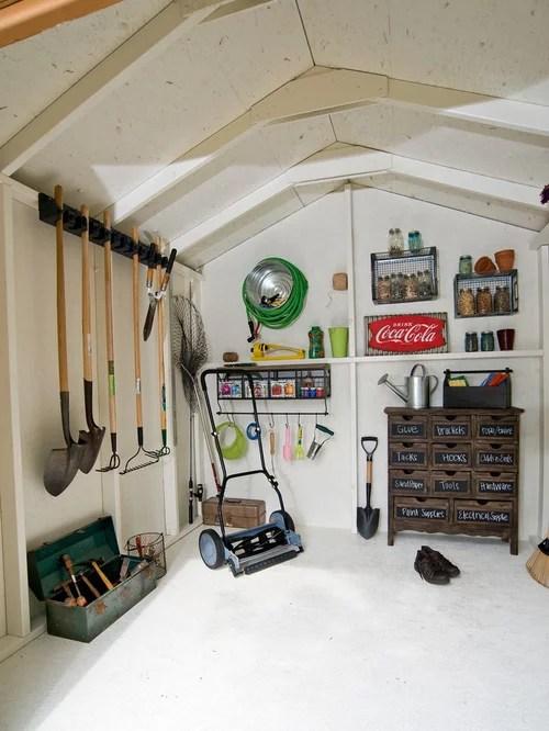 Garden Shed Interior Houzz