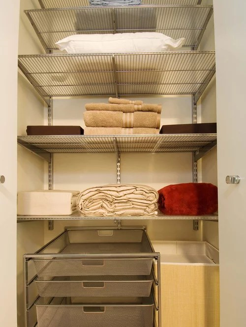 kitchen pantry drawer systems lowes outdoor island linen closet organization   houzz