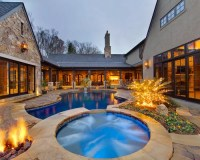 House Plans Interior Courtyards Pool Design Ideas ...