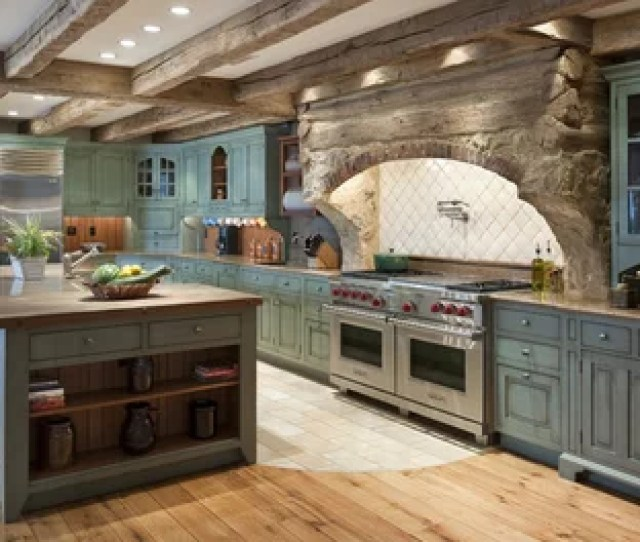 Large Rustic Eat In Kitchen Designs Eat In Kitchen Large Rustic L Save Photo
