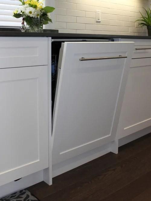 Panel Ready Dishwasher Houzz