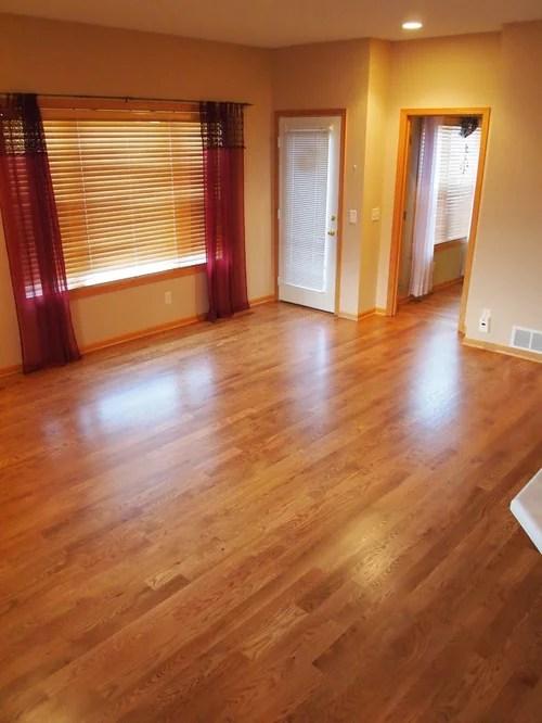 3 14 Red Oak Hardwood Flooring Stained Fruitwood