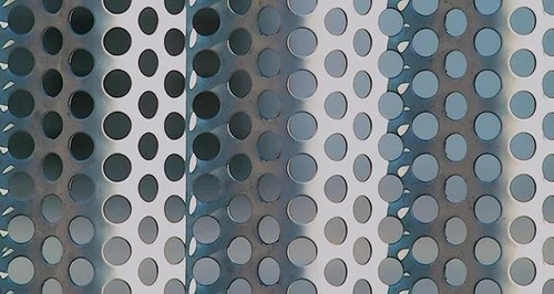 Perforated Corrugated Panels