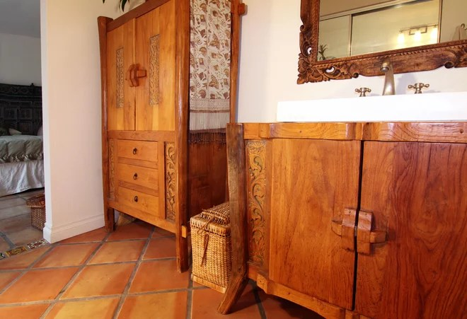 Eclectic Bathroom by Flea Market Sunday