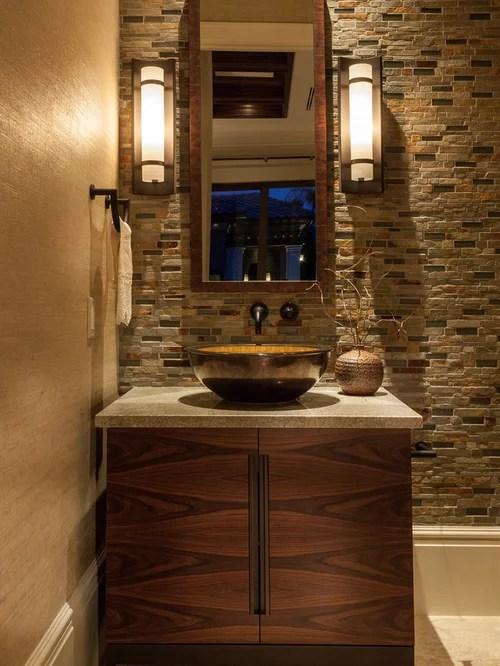 Best Mediterranean Powder Room Design Ideas  Remodel