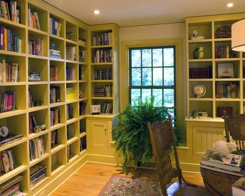 Home Office Library Houzz