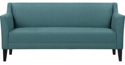 leather possibilities track arm sofa organizer india guest picks: 29 gloriously colorful sofas for every style