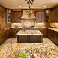 Log Cabin Kitchen Cabinets Chairs Target Kashmir Gold Granite | Houzz