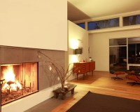 Midcentury Modern Fireplace | Houzz
