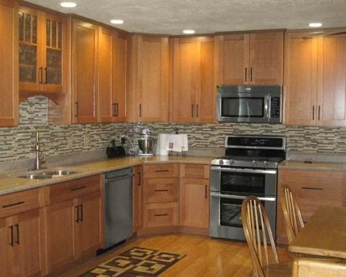 Oak Kitchen Cabinets  Houzz