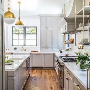 75 Popular Kitchen With Beige Cabinets Design Ideas Stylish