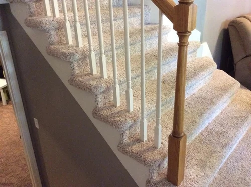 Replacing Balusters Without Removing Carpet | Replacing Wood Spindles With Metal | Stair Spindles | Iron Stair Balusters | Stair Parts | Stair Railing | Staircase