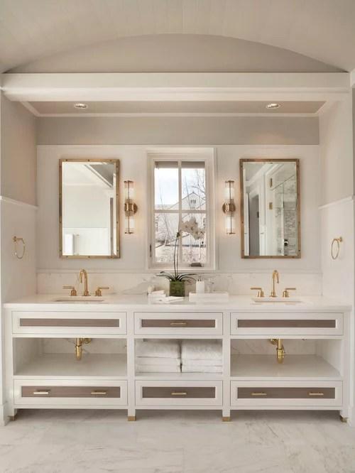 gold bathroom fixtures houzz