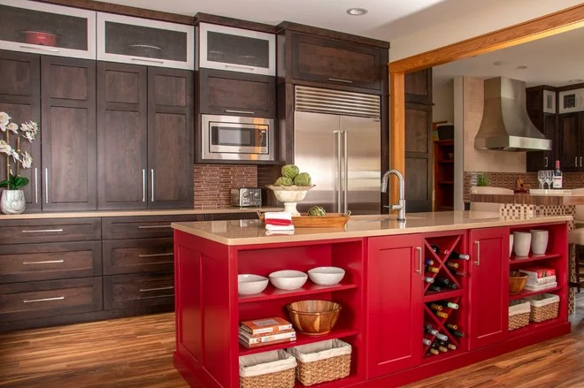 Transitional Kitchen by THORCRAFT Custom Kitchens