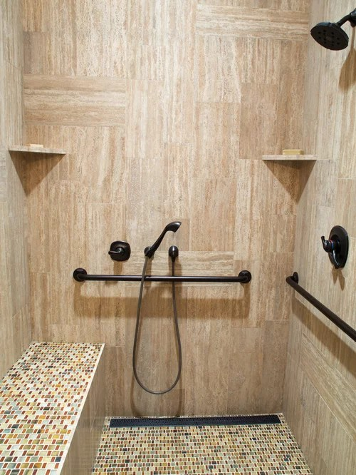 Handicapped Accessible Shower Design Ideas  Remodel Pictures  Houzz