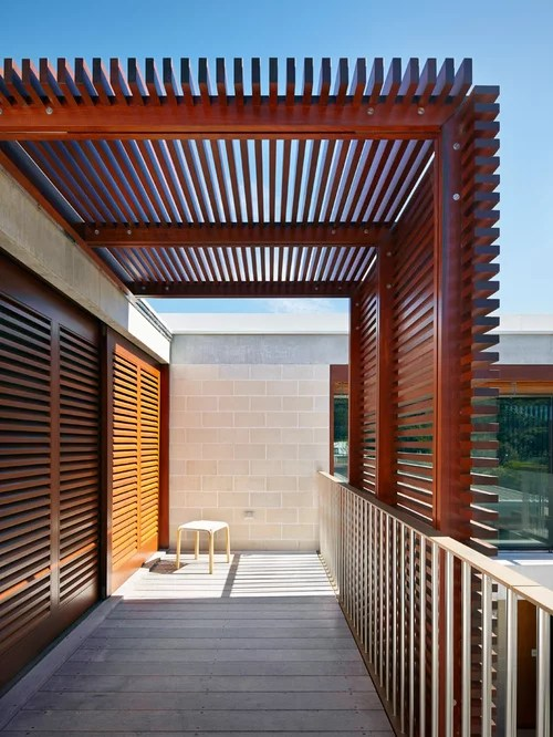 Modern Pergola Home Design Ideas Pictures Remodel And Decor