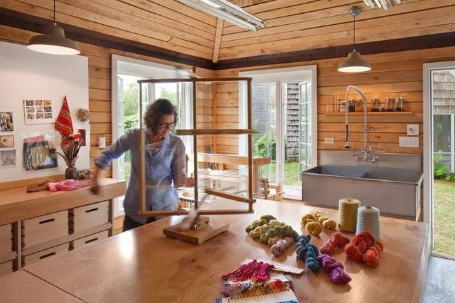Farmhouse Home Office by Anthony Crisafulli Photography