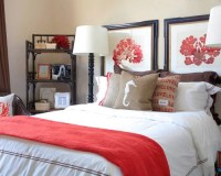 Coral Bedroom | Houzz