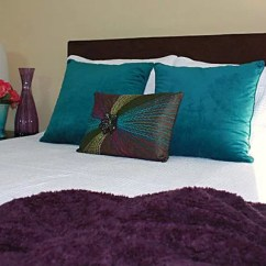 Houzz Leather Sofa Living Room Art Ideas Purple And Teal |