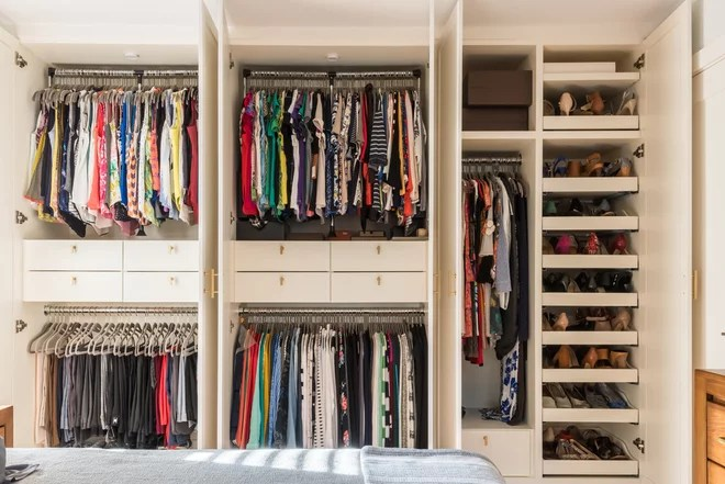 Contemporary Closet by Wood Customs