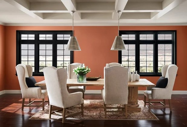 living room paint colors 2019 modern ideas with fireplace will these 9 dominate homes in cavern clay from sherwin williams