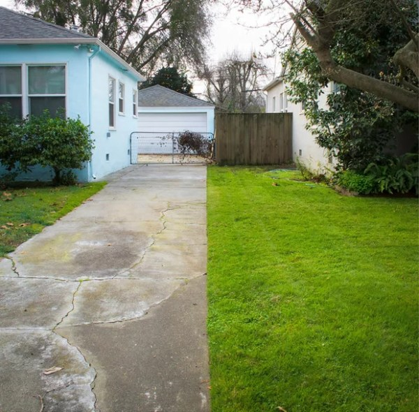 front yards collide property