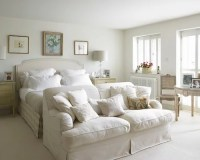 Cream Bedroom Home Design Ideas, Pictures, Remodel and Decor