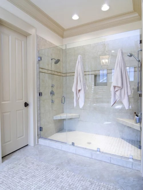 Best Double Shower Design Ideas  Remodel Pictures  Houzz