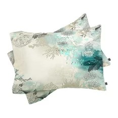 coastal pillowcases and shams