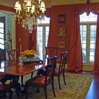 Formal Dining Room Window Treatments | Houzz