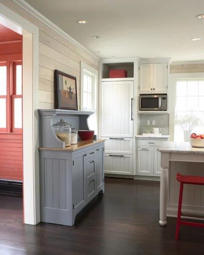 kitchen server victorinox knives buffet sideboard credenza what s the difference traditional by trehus architects interior designers builders
