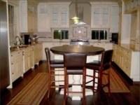 Kitchen peninsula ideas, needs to be thin