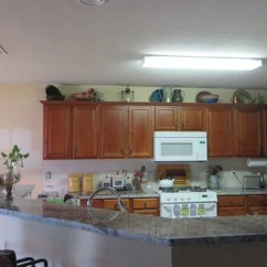 Kitchen Fluorescent Light Packages What Fixture Do I Use To Replace