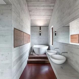 Stanza da bagno moderna  Foto Idee Arredamento