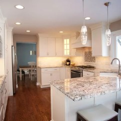 White Beadboard Kitchen Cabinets Refrigerator Small Blue Flower Granite Home Design Ideas, Pictures, Remodel ...