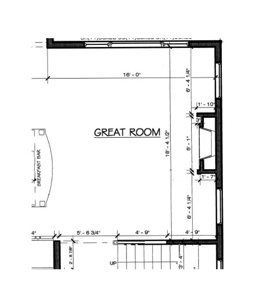 need advice on sectional couch size layout